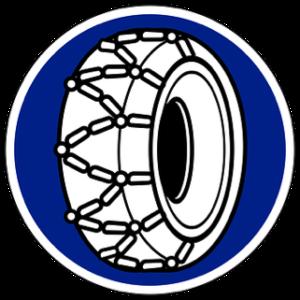 Vodiff pneu hiver chaines