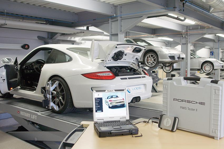 Blog Vodiff Atelier Porsche