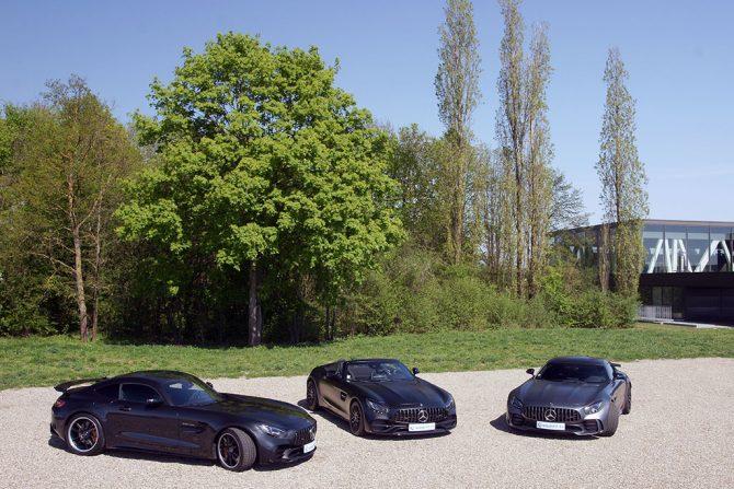 MERCEDES AMG GTR GTC